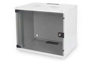 DIGITUS Professional 9HE Netzwerk Wandgehäuse / Wandschrank UNMONTIERT, SOHO Compact-Serie, 460x540x400 mm, grau (RAL 7035) - 1