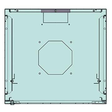 LogiLink W66Z33B Canovate SOHO Wandgehäuse (25,4 cm (10 Zoll), 6HE, 316 x 310 mm, montiert) schwarz -