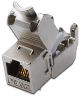Assmann DN-93615 Digitus Professional Cat 6A Keystone Modul, geschirmt, werkzeugfreier Montageanschluss -